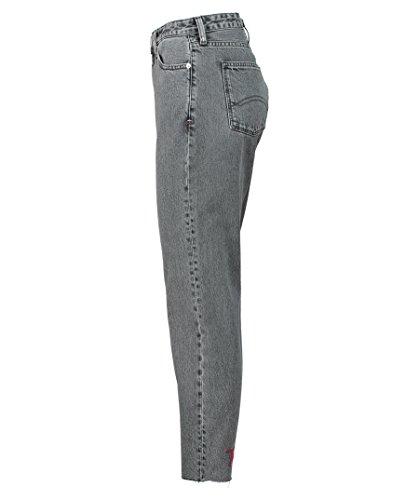 Dw0dw04760 Fit Tommy Hilfiger Vita Pantaloni Grigio Regular Alta Donna Jeans 47gqw5