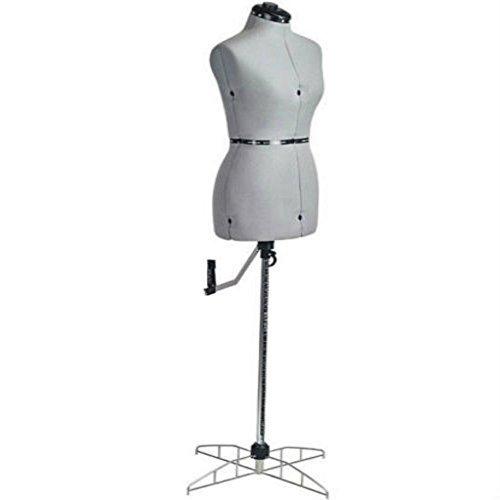 - Adjustable Dress Form Mannequin Seamstress Sewing Torso Large Wardrobe Dummy