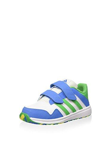 adidas Snice 4 CF I - Zapatillas De Running Niños Blanco / Azul / Verde