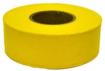 C.H. Hanson Flagging Tape Bulk Yellow