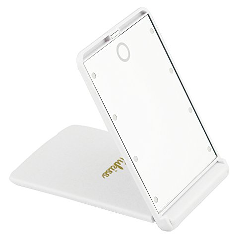 Makeup Mirror With 8 Dimmable Enhanced Led Lights Yukiss
