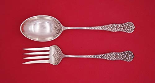 - Rococo by Dominick and Haff Sterling Silver Salad Serving Set 2pc 11 1/2