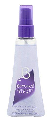 Beyonce Midnight Heat Sparkling Body Mist 4.2 Fl Oz 125 Ml New