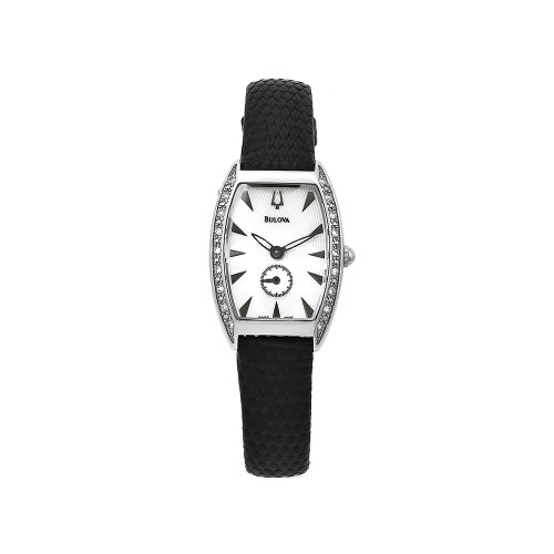 Bulova Women's 63R002 White Dial Diamond Accent Watch