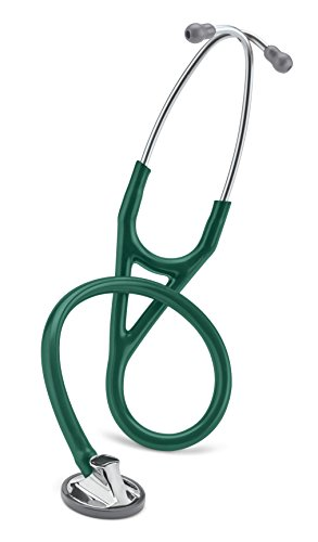 - 3M Littmann Master Cardiology Stethoscope, Hunter Green Tube, 27 inch, 2165