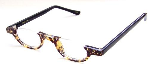 Under Frame Reading Glasses, 1.50, Blonde (Blonde Womens Sunglasses)