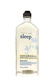 Bath & Body Works Aromatherapy Wash & Foam Bath Warm Milk & Honey Sleep