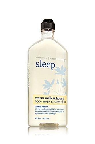 Aroma Bath Milk - Bath & Body Works Aromatherapy Wash & Foam Bath Warm Milk & Honey Sleep
