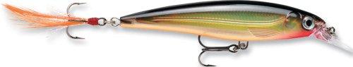 8 X 10 Tackle - Rapala X-Rap Jerkbait 10 Fishing lure (Gold, Size- 4)