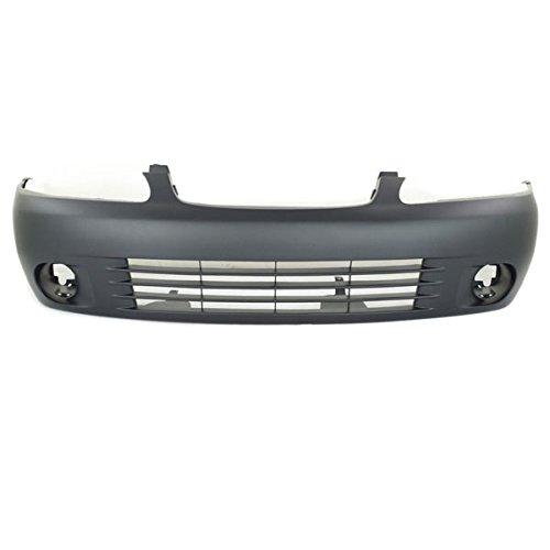 Front Bumper Cover Facial Assembly Primed Fits 00-03 Sentra NI1000178 F20225M125