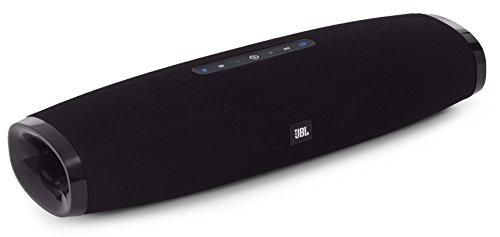JBL Boost TV - Sistema de altavoces Home Cinema inalámbrico ultra-compacto con Bluetooth, óptica y 3.5 mm, color negro