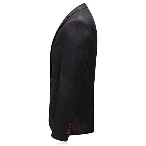 8132 Fit N Hommes Costume Classique Tuxedo Mode Marque Blazer Mariage Mince Imprimer Élégant De Bal Partie Mariée qfawzBH