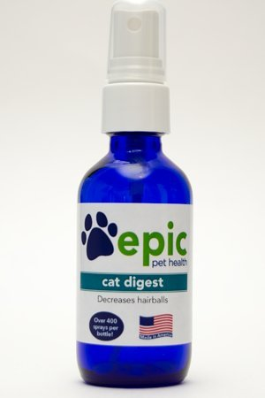 Epic Pet Health Cat Digest - Reduces Hairballs in Cats (2 Ounce, Spray)