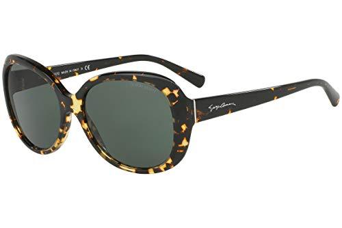 Giorgio Armani AR8047 - 529471 Sunglasses Brown Havana/ Green 56mm