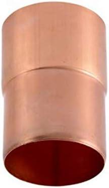 Manchon cuivre 80 mm m/âle//femelle