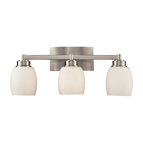 Elk Lighting 17102-3 Northport 3-Light Vanity In Satin Nicke