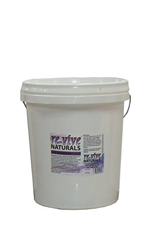 Re-vive Naturals Food Grade Quality Magnesium Chloride Flakes (35-Pound Tub) by Re-vive Naturals