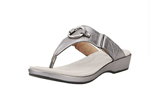 Ariat Women's Poolside Thong Sandal,Warm Stone Full Grain Leather,US 7 B