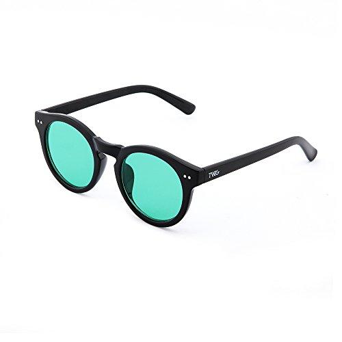 degradadas Negro Verde mujer espejo de TWIG Gafas sol FRIDA wA0qwX8