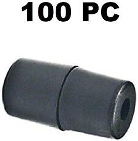Durable 100PC Breakaway Lanyard POP Barrel Connector Black