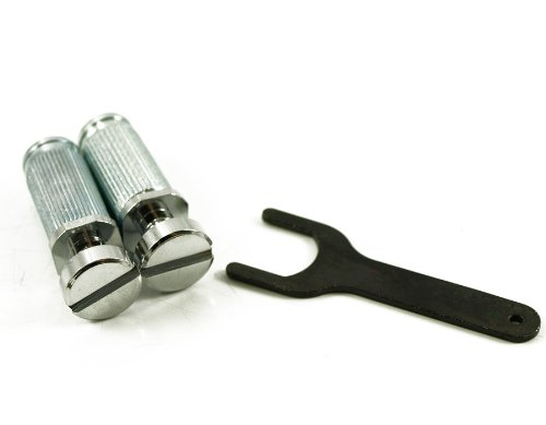 TONEPROS® VINTAGE STEEL LOCKING STUDS (TAILPIECE NOT INCLUDED) US THREAD CHROME ()
