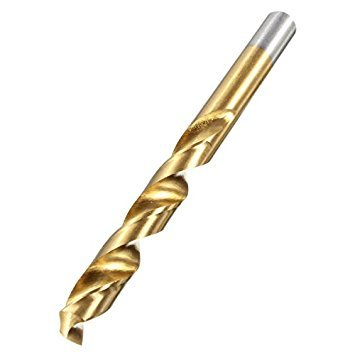 HSS Cobalt Drill Bit - TOOGOO(R)HSS Cobalt Drills CNC Spiral Drill Drill Bit For Stainless Steel Size: 10mm ()
