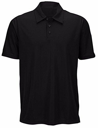 Oakley 431954OCB Mens Basic Polo, Black-4XL (Interlock Embroidered)