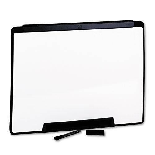 QUARTET MFG MMP25 Motion Portable Dry Erase Board, 24 x 18, White, Black Frame