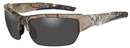 171f3879f02 Amazon.com   Wiley X Chval03 Valor Sporting Glasses Realtree Xtra ...
