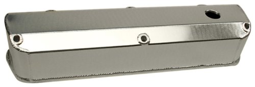 PRW 4030210 Satin Silver Anodized Aluminum Valve Cover for Ford 302/351W -