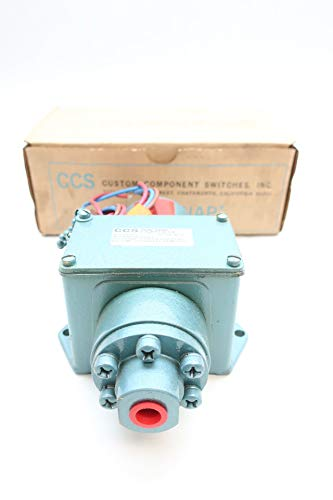 (CUSTOM CONTROL SENSORS 646GE11 Pressure Switch 1/4IN 12-150PSI)