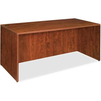 Lorell LLR69411 69000 Series Desk, Cherry ()