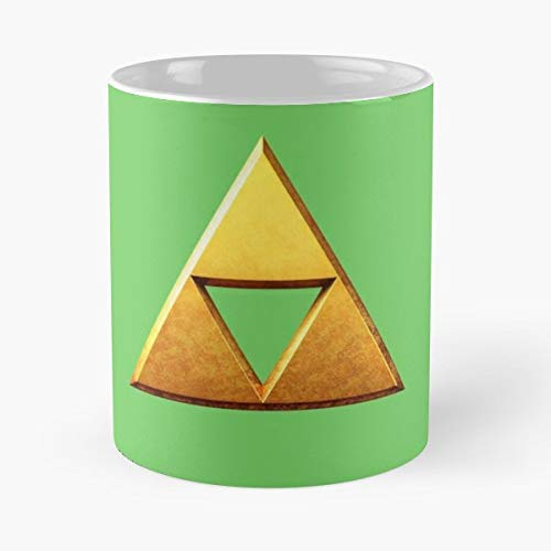 Triforce Link Zelda Legend Of Gift Coffee/tea Ceramic Mug 11 Oz