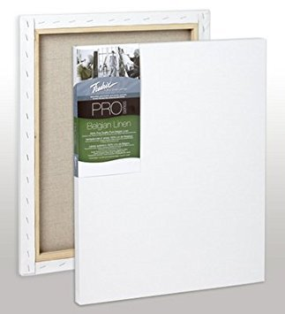 Fredrix Pro Belgian Linen Pre-Stretched Canvas 11 in. x 14 in. ()