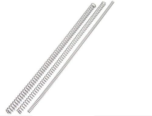 ZZB-LSTH, 3PCS Kleine Edelstahl-Metallschraubendruckfeder, 0,6 mm Drahtdurchmesser * (4-10) mm Durchmesser Out * 305mm Länge (Color : 3pcs, Size : 0.6x5x305mm)