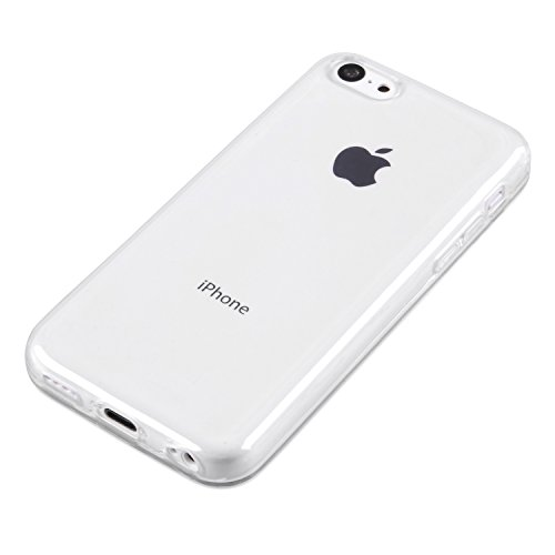 deinPhone iPhone 5C Silikon Case Hülle Transparent Clear