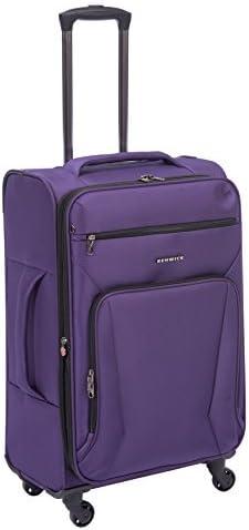 Renwick 24 Lightweight Spinner Suitcase Luggage Purple