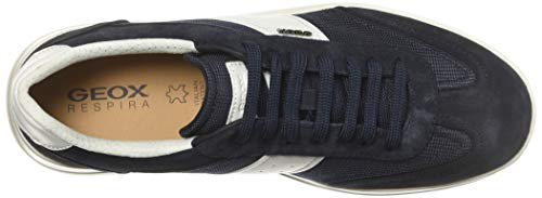 Basses white Homme A Kennet C4211 navy Sneakers Geox Bleu U 8wITgg