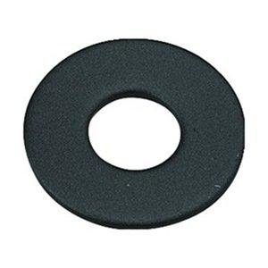 DrillSpot 1/4'' Black Oxide Finish Machine Screw Flat Washer, Pack of 10000