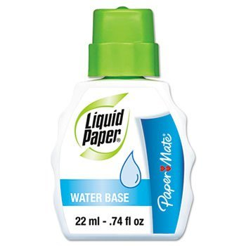 Paper Mate Liquid Water Base Correction Fluid (1799754) by Paper Mate