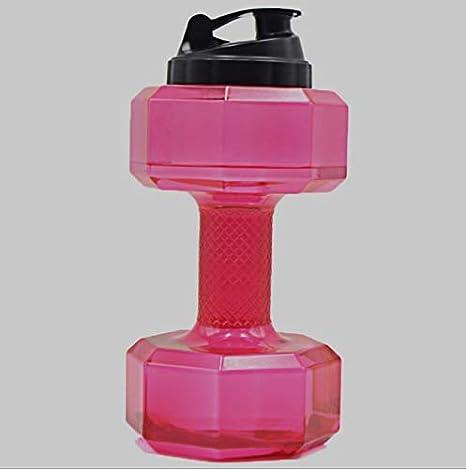WJNGQJKXKIJ termos para Cafe Botella de Agua petg_2.2l Gran Capacidad Creativa Botella de plástico