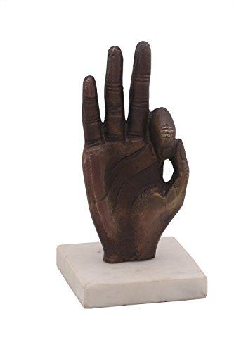 AAA BATH FASHIONS Ganga Crafts Buddha Perfect Sculpture