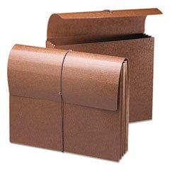 3 1/2 Inch Accordion Expansion Wallets, Letter, Leather-Like Redrope