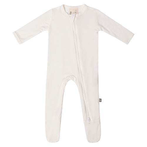 KYTE BABY Soft Bamboo Rayon Footies, Zipper Closure, 0-24 Months
