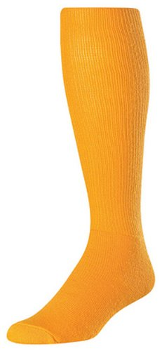 Twin City Acrylic Baseball Tube Sock, Gold, Small by TCK