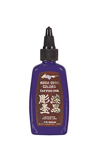 Kuro Sumi Tattoo Ink, Murasaki Purple, 2 Ounce
