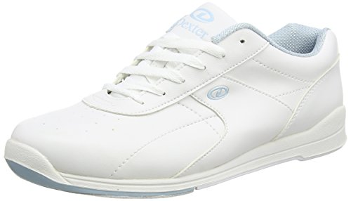 UPC 091501862358, Dexter Raquel III Bowling Shoes, White/Baby Blue, 5