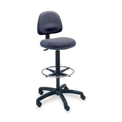 SAF3401DG - Safco Precision Extended Height Chair with Footring