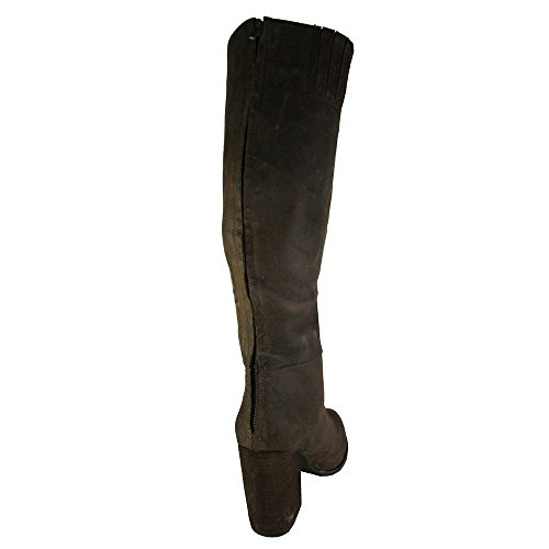 Jeffrey Campbell Womens Sark Knee Boot Scarpa Marrone Crazy Horse