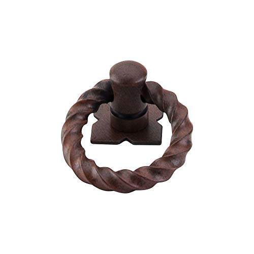 Top Knobs M639 Normandy Twisted Ring Pull - Ring Pull Twisted